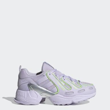 Women Originals Purple EQT Gazelle Shoes