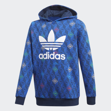 Youth 8-16 Years Originals Blue Hoodie