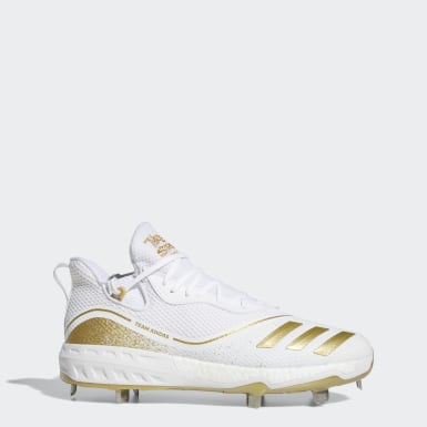 Men's Baseball White Icon V Cleats