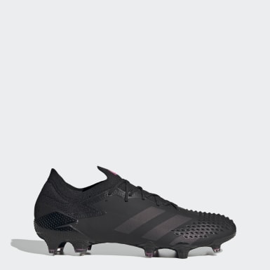 Football Black Predator Mutator 20.1 Low Firm Ground Boots