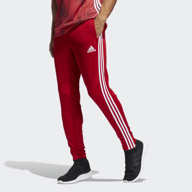 Men Soccer Red Tiro 19 Training Pants