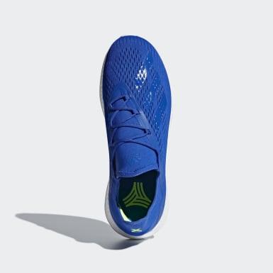 Calzado de Fútbol X 18+ Azul Hombre Fútbol