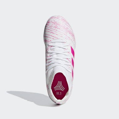 Calzado de fútbol Nemeziz Tango 18.3 Turf (UNISEX) Blanco Niño Fútbol