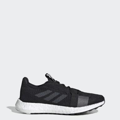 Women Running Black Senseboost Go Shoes