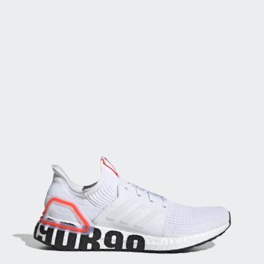 Men Running White Ultraboost 19 DB Shoes