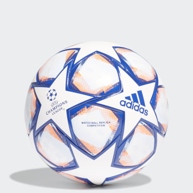 Men Football White UCL Finale 20 Competition Ball