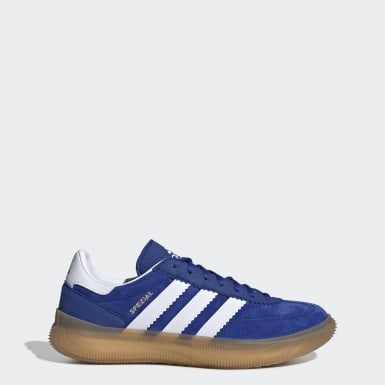 Women Squash Blue Spezial Boost Shoes