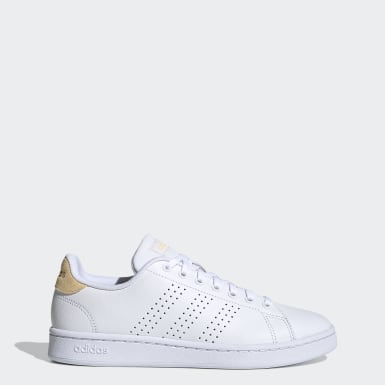 Kvinder Tennis Hvid Advantage sko