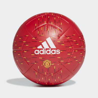 Men's Soccer Red Manchester United Club Ball