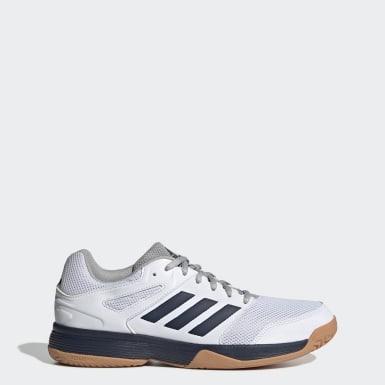 Männer Korbball Speedcourt Schuh Weiß