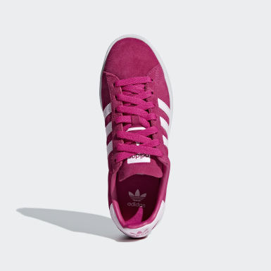 Youth Originals Pink Campus Shoes
