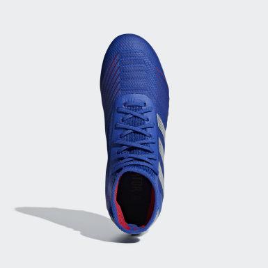 Kids Football Blue Predator 19.1 Firm Ground Boots
