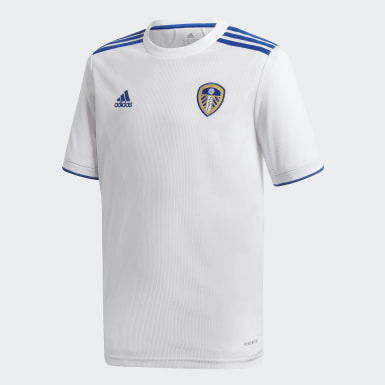 Børn Fodbold Hvid Leeds United FC 20/21 hjemmebanetrøje