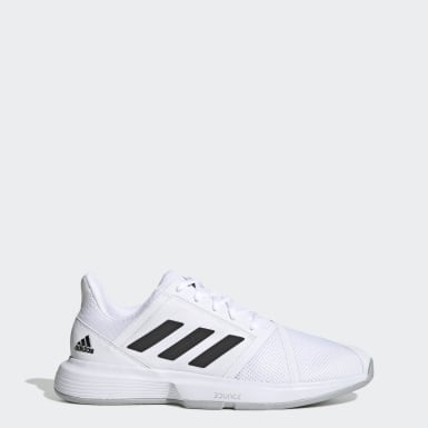 Men's Tennis White CourtJam Bounce Shoes