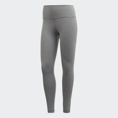 Women Training Grey Believe This 7/8 Tights