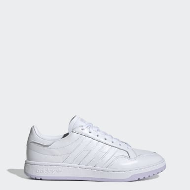 Women's Originals White Team Court Shoes