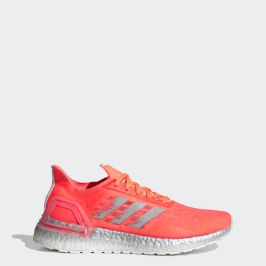 Women Running Orange Ultraboost PB Shoes