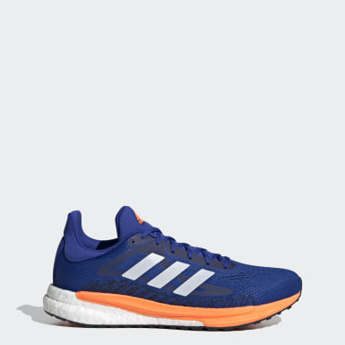 Sapatos SolarGlide 3 Azul Homem Running