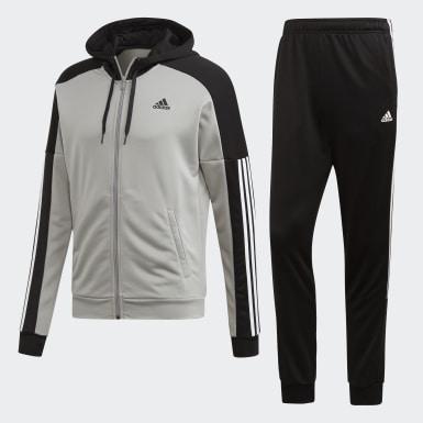 Mænd Athletics Grå Game Time træningsdragt
