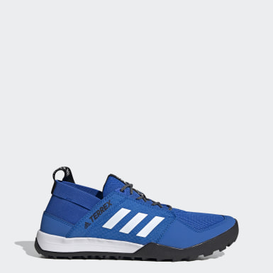 Men TERREX Blue Terrex Climacool Daroga Water Shoes