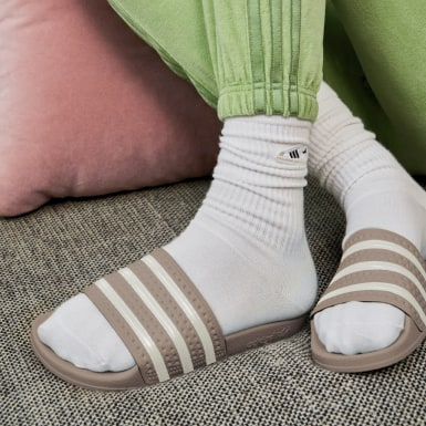Ženy Originals béžová Pantofle adilette
