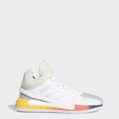 บาสเกตบอล สีขาว รองเท้า D Rose 11
