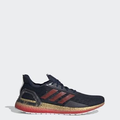 Sapatos Ultraboost PB Azul Homem Running
