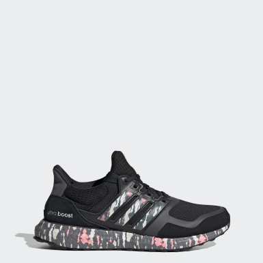 Women Running Black Ultraboost DNA Shoes