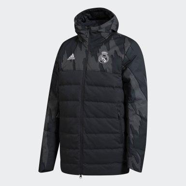 серый Пуховик Реал Мадрид Seasonal Special