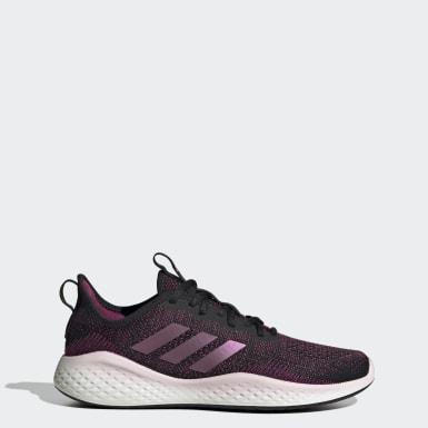 Women Running Black Fluidflow Shoes