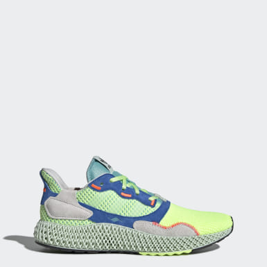 Men's Originals Green ZX 4000 4D Shoes