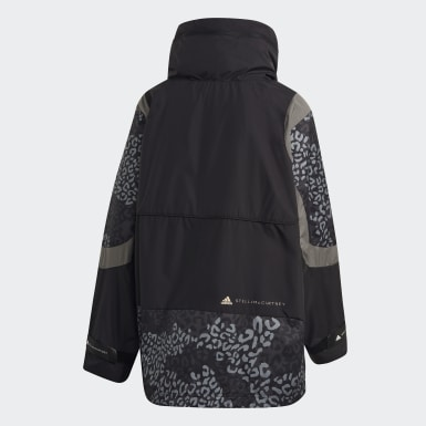 Women adidas by Stella McCartney Black Training Suit Panelled Jacket