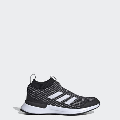 Youth Running Black RapidaRun LL Shoes
