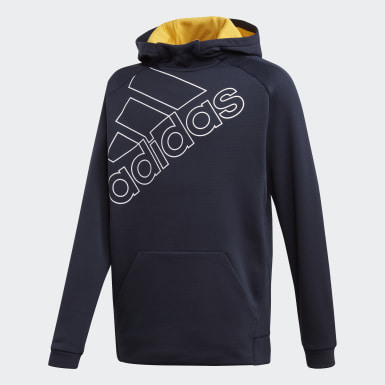 Jongens Training Blauw Pullover Trainingshoodie
