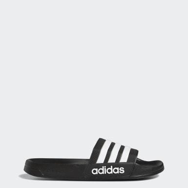 เทรนนิง สีดำ รองเท้าแตะ Adilette Cloudfoam