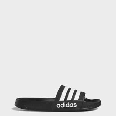 Men Swimming Black Adilette Cloudfoam Slides