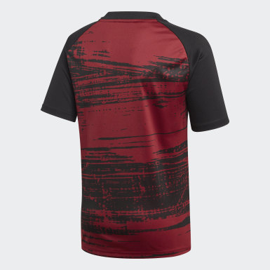 Barn Fotboll Burgundy Arsenal Pre-Match Jersey