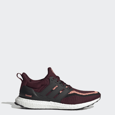 Løb Burgundy Ultraboost DNA x Manchester United sko