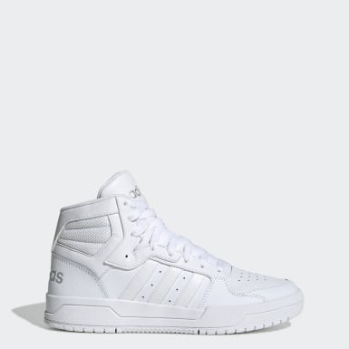 Women's Essentials White Entrap Mid Shoes