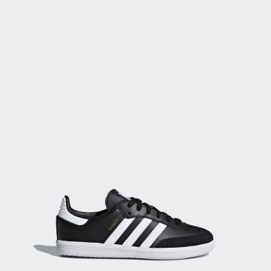 Kids 4-8 Years Originals Black Samba OG Shoes