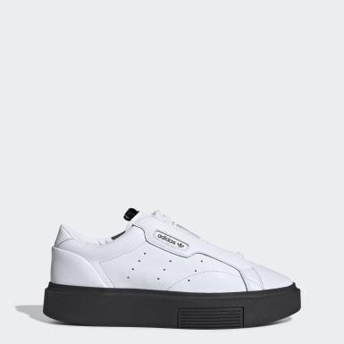Dames Originals Wit adidas Sleek Super Zip Schoenen