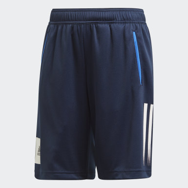 Boys Yoga Blue AEROREADY Shorts