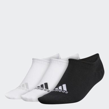 Frauen Golf No-Show Liner Socken, 3 Paar Weiß