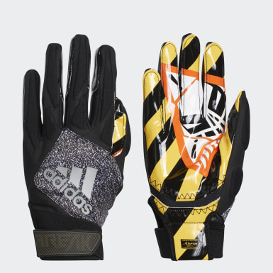 Football Black Freak 4.0 Warning Gloves