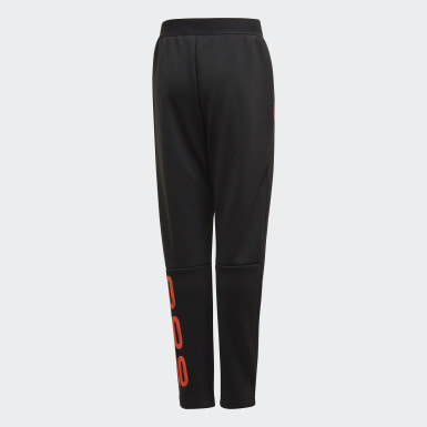 Pantalon Football-Inspired Messi AEROREADY Warming Noir Garçons Training