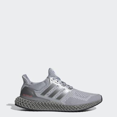 Men Running Grey Ultra 4D Shoes