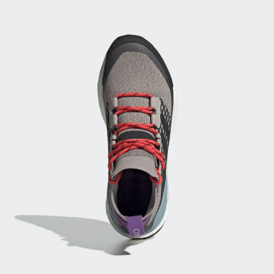 Sapatos de Caminhada Free Hiker TERREX Bege Mulher TERREX