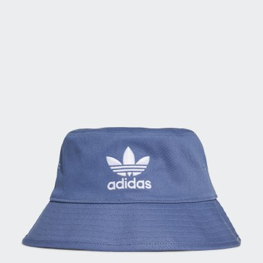 Originals Blue Trefoil Bucket Hat