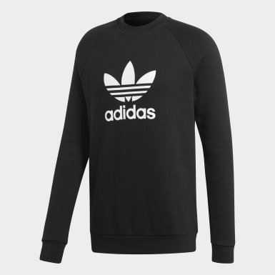 Trefoil Warm-Up Crew Sweatshirt