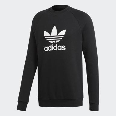 Trefoil Warm-Up Sweatshirt